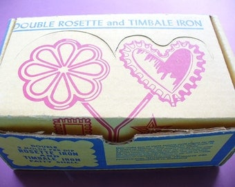 Nordicware rosette and timbale French waffle or sugar waffle maker NIB