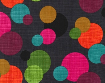 Hashmark In The Round by Michael Miller.  100% Premium designer cotton - Mulit dots, fabric by the yard, quilting fabric