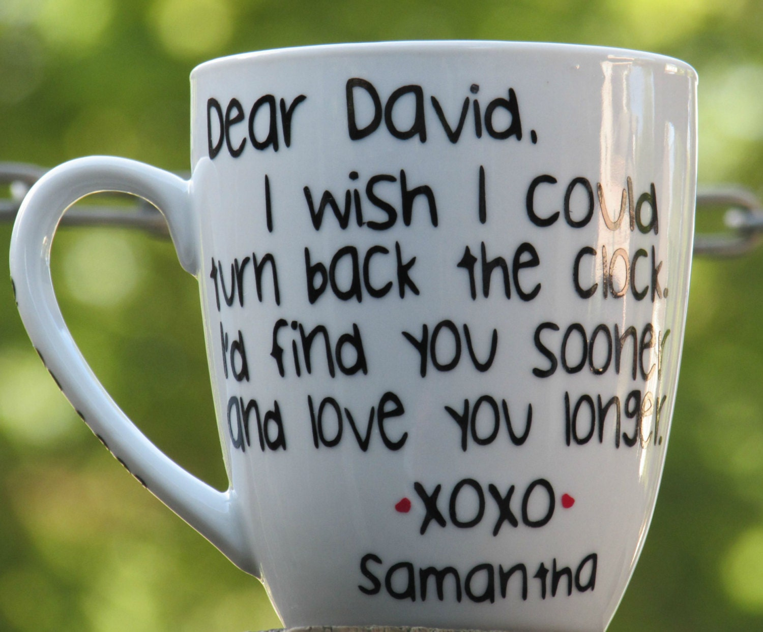Personalized Mug For Him Love Mug Boyfriend Cup Husband