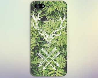 Deer Antlers x Feathered Arrows x Forest Phone Case for iPhone 6 6 Plus iPhone 7  Samsung Galaxy s8 edge s6 and Note  S8 Plus Phone Case
