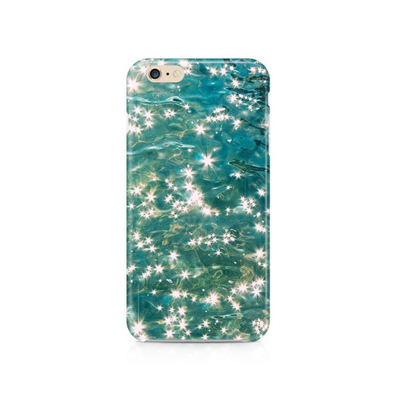 iPhone 6S Case SEA Glitter iPhone 6 case shimmery iPhone 5c case ...
