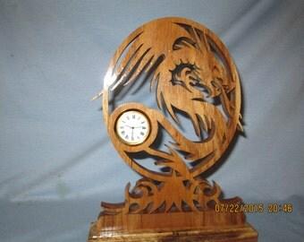 Dragon desk clock