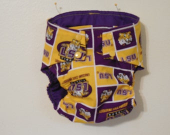 LSU diaper covers