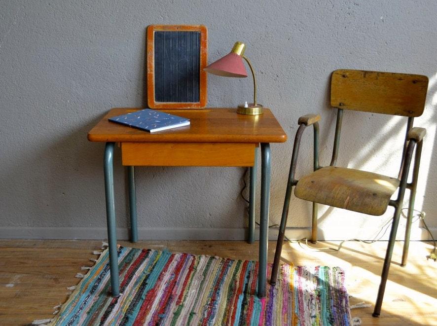bureau d 233 colier vintage pi 233 tement tubulaire kid desk haute juice