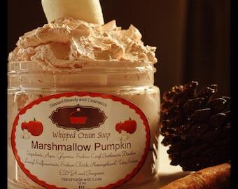 Whipped Cream Soap Marshmallow Pumpkin