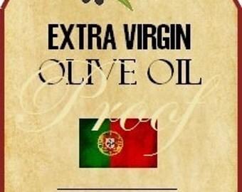 Oil & Vinegar Favor Labels