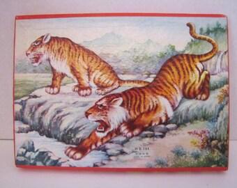 Vintage Animal Puzzle (WB 344)