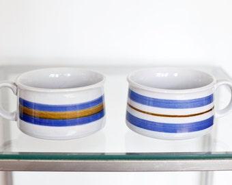 Set of Vintage Ceramic soup cups/bowls
