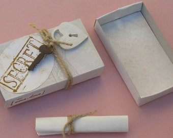 Lot of 3 announcements |mariage shabby chic|