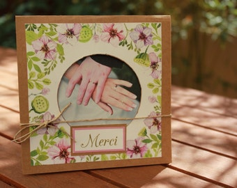 Card of thanks range |mariage side jardin|