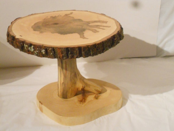 tree trunk slice wedding cake stand 13 tree slice display stand wood slice by nazarethwoodcreation 21259