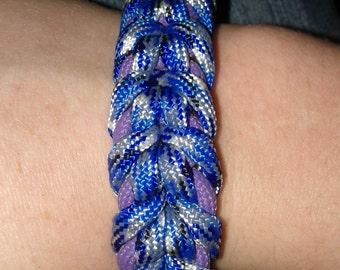 Spider-Trickster Bar Bracelet