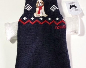 Adorable XS  DOG SWEATER
