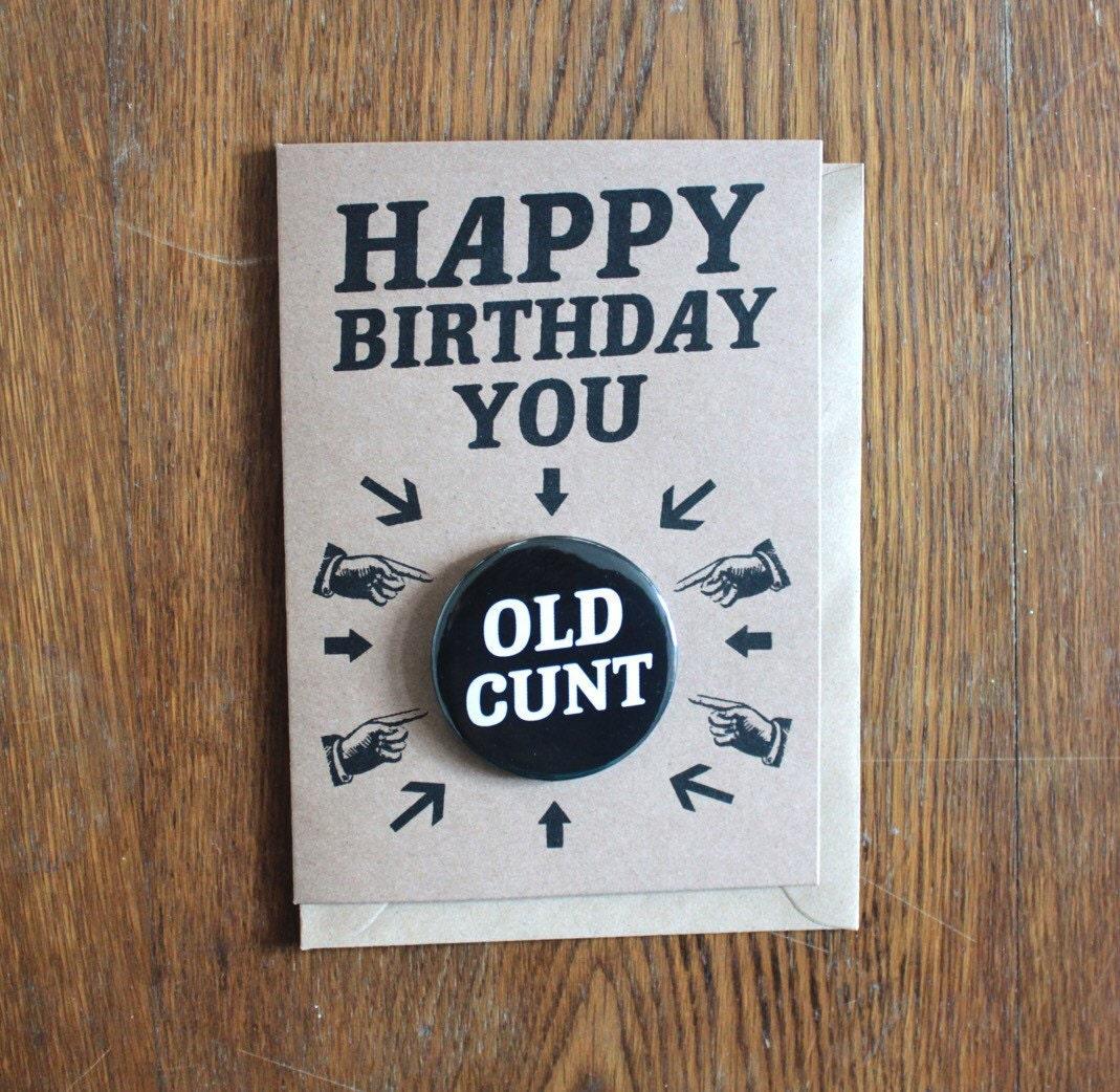 Old cunt
