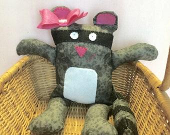 SALE -- Rosie the Raccoon Plush Toy