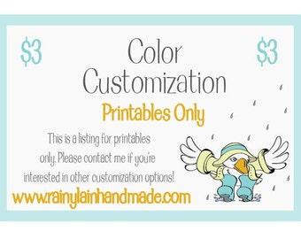 Color Customization