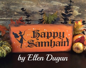 Happy Samhain Sign