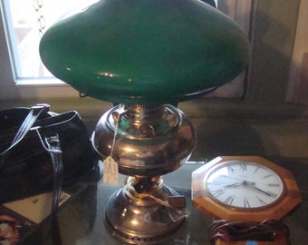 Vintage 22 inches tall Rayo Electric Oil Lamp