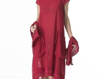 roshanara  rasberry Violet dress