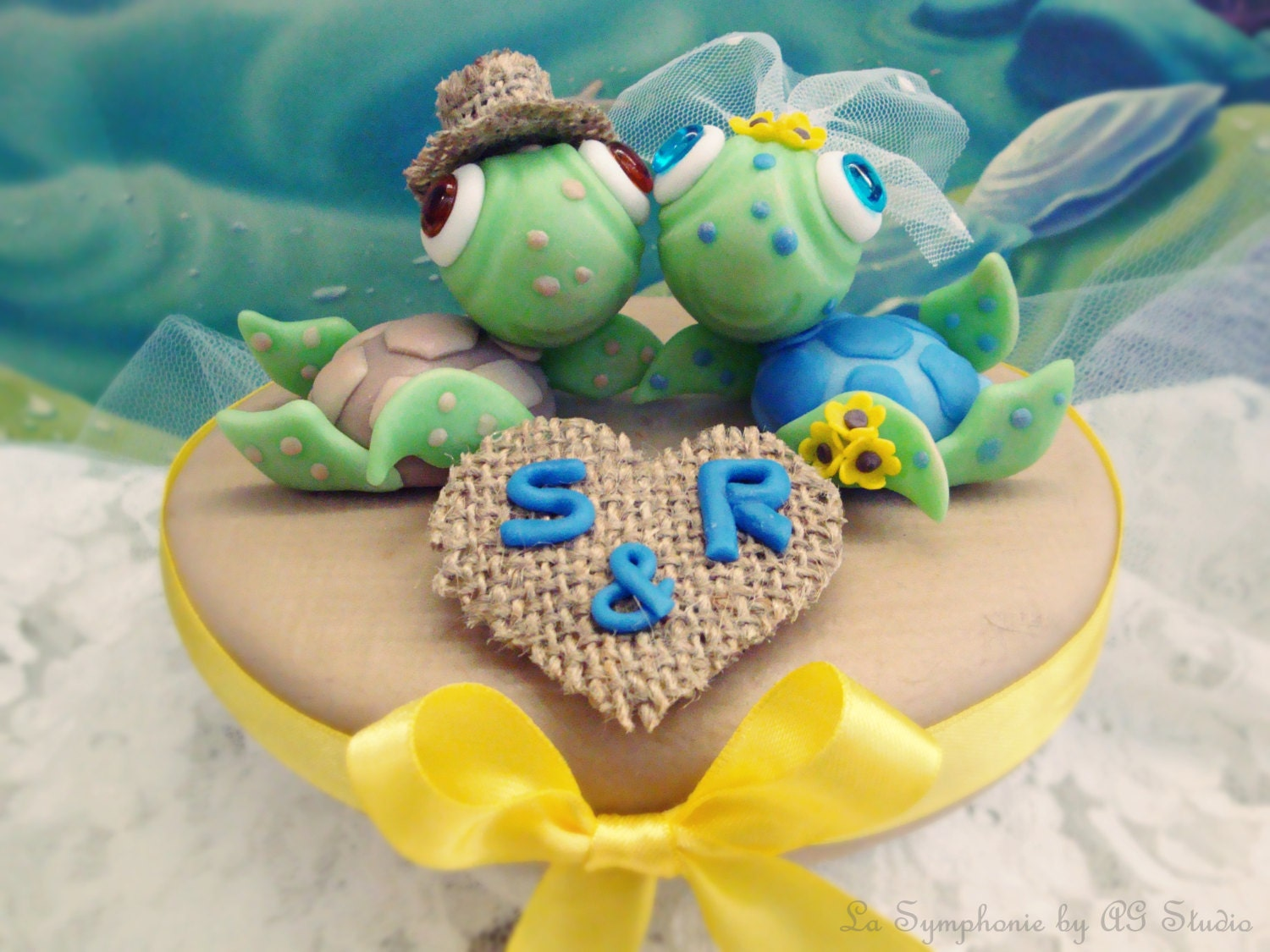 sea turtle wedding cake topper lovely sea turtle wedding cake topper custom wedding cake 19729