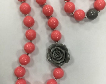 Chunky Necklace and Bracelet of the Month-12 Month Subscription