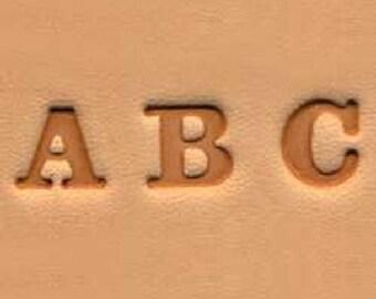 """Easy-To-Do Stamp Set Alphabet 0.6 cm (1/4"""") 4903-01"""