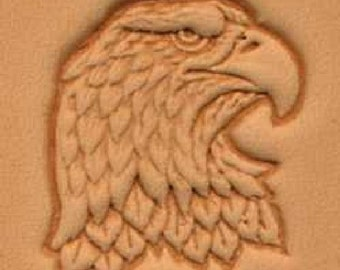 Eagle Head Craftool 3-D Stamp (Right) 88344-00