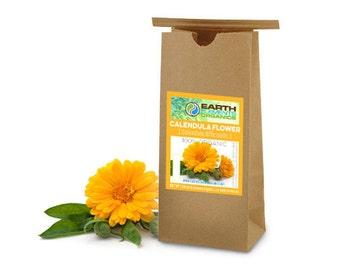 Calendula Flowers (100% Organic, 1lbs.)