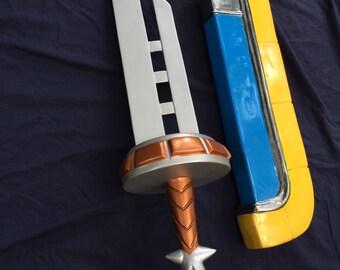 The Legend of Zelda: Razor Sword/scabbard replica prop (Pre Order)