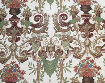 High End Damask Upholstery Fabric By The Yard