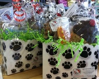 Gourmet Dog Treat Small Gift Basket