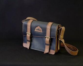 schoolbag, craft, briefcase, computer bag, messenger, shoulder bag, satchel, leather, black, brown