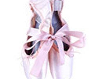 Ceramic Tile Magnet 2x2 Sublimation - 1001 - Ballerina Slippers