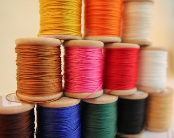 Serafil - Basic Color No.10 or 20 Threads, Basic Color,(12 color available),Produced by Amann, Germany -MLT-P00000KX