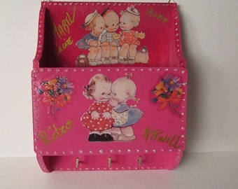 Door-letters doll Mabel Lucie Attwell Range mail box storage key