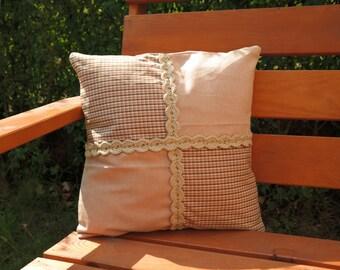 Pillow Cover, Pillow Case, Decorative Pillow, Home Decor, Throw Pillows, 15 x 15 inches