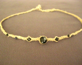 Cute Braided Hemp Choker