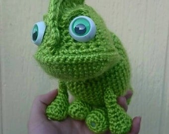 Crochet Pascal The Chameleon Hat Cartoon Costume Hat