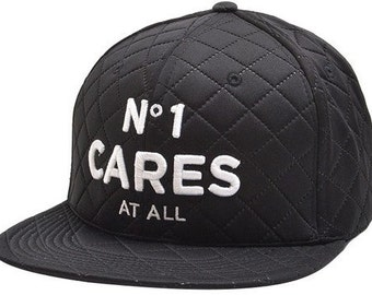 No one cares quilted hat