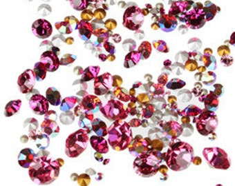SWAROVSKI Chaton Mix - Blushing Bride (10grams)