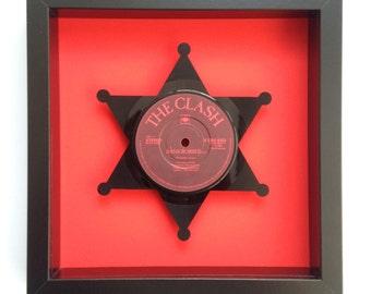 The Clash 'Bankrobber' Sheriff Vinyl Record Art