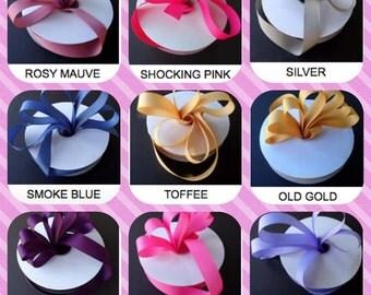 "1/4"", 10 Yards Grosgrain Ribbon, Ribbons, Grosgrain Ribbon. Choose your color of GROSGRAIN RIBBON"