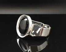 "Baltic Cherry Amber Silver Bracelet // 925 Sterling Silver // 8"" Length // Handmade"
