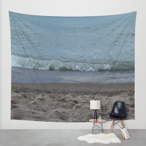 Outside Beach Wall Decor: THE BEACH BABY Tapestry Indoor/Outdoor Art/Wall