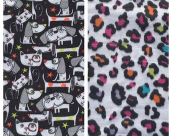 Fleece Dog/Cat Blanket(D214,D215)