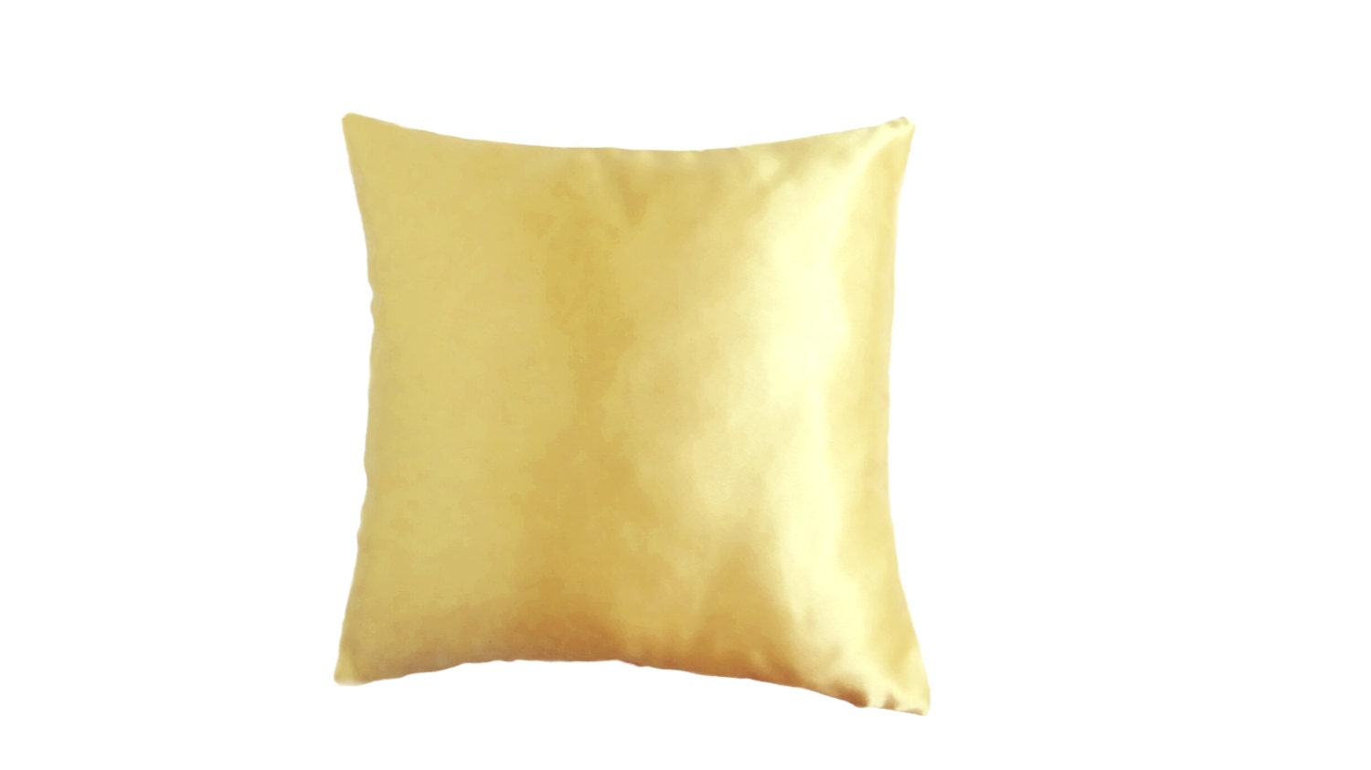 Beige Throw Pillow Covers : Golden Beige Pillow Covers Satin Throw Pillow by AnnushkaHomeDecor