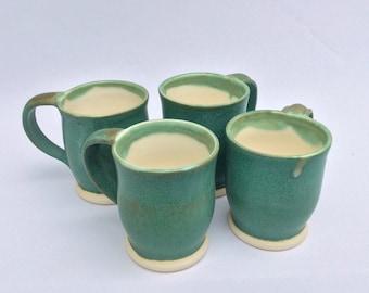 Weathered Bronze Mug Set