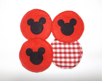 Mickey Mouse inspired disney coasters