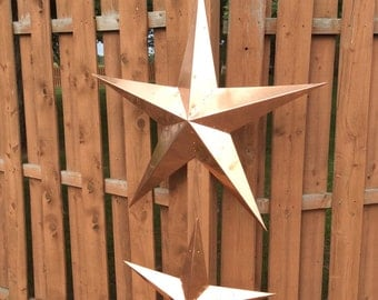 Pure copper barn star--36 inch across
