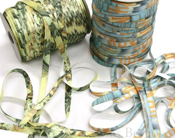 15mm Printed Bra Strap Elastic in 2 Designs, Made in Italy